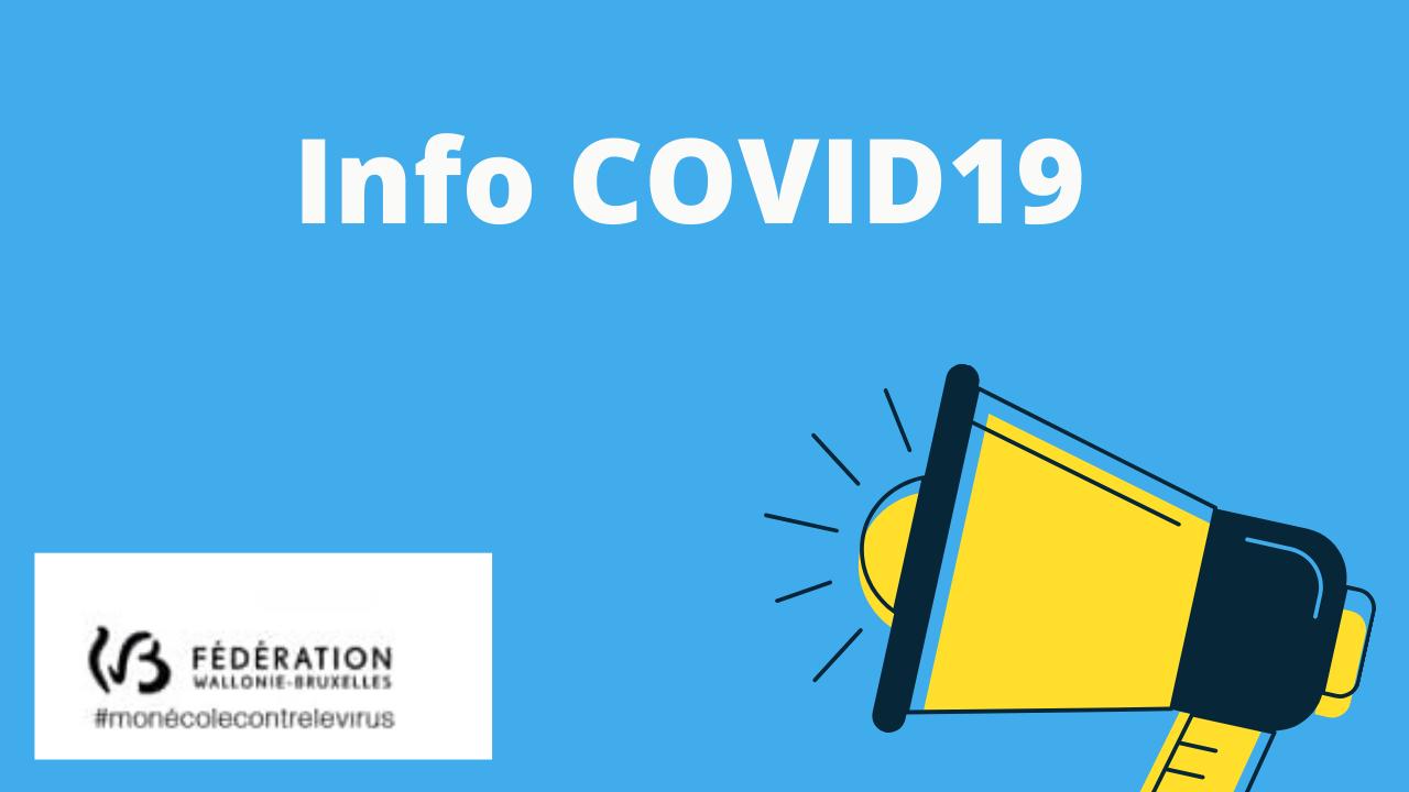 Infos covid-2