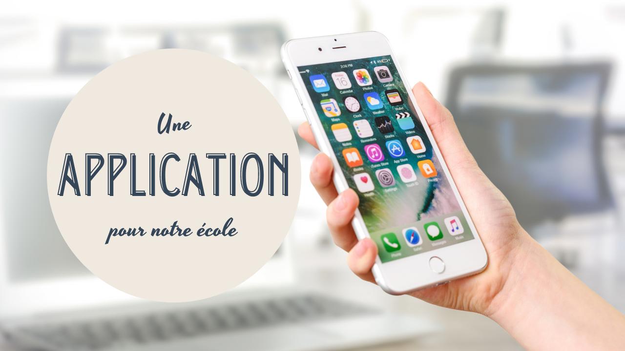 App Ecole