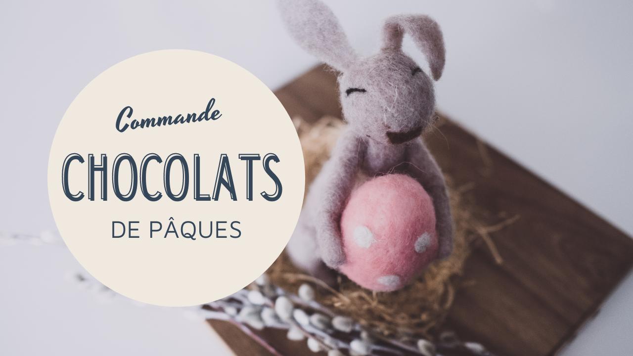 Commandes Lapins de Pâques