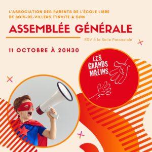 Association des parents - Assemblée générale
